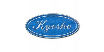 【オンライン限定】KYOSHOパッチ(ブルー筆記体)雄ベルクロ付き ONF905