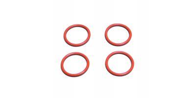 Silicone O-Ring(P22/Orange/4pcs)         ORG22