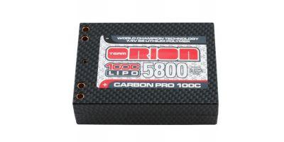 カーボンプロLiPo 5800(100C/7.4V/サドルブロック/Wバナナ) ORI14065