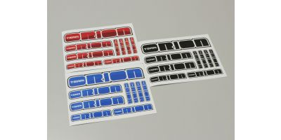 Team Orion 2014 Sticker(red-blue-black) ORI43328