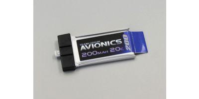Avionics LiPo 200mAh 3.7V (20C) ORI60099
