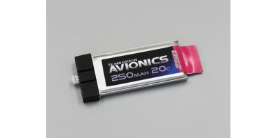 Avionics LiPo 250mAh 3.7V (20C) ORI60100