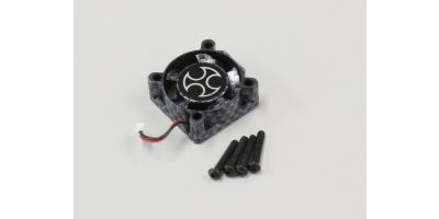 Cooling Fan Carbon Look for R10.1(65128) ORI65178