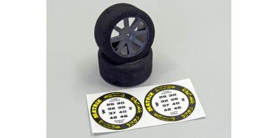 Foam Tyres 1:10 30mm - 32 Shore ORI76200