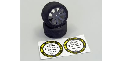 Foam Tyres 1:10 30mm - 42 Shore ORI76204