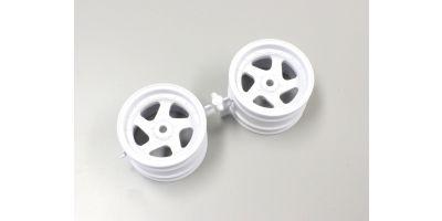 5sp Wheel 43mm White (OPTIMA) OTH244W