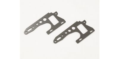 Carbon Front Side Plate (2pcs/OPTIMA) OTW105