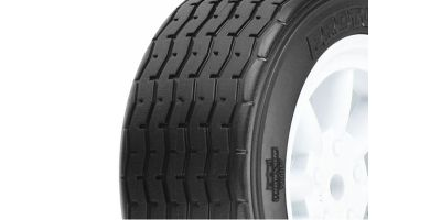 VTA Front Tires Mounted on White Wheels PL-10140-17