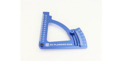 キャンバーゲージ ブルー -5~20°  R246-8191