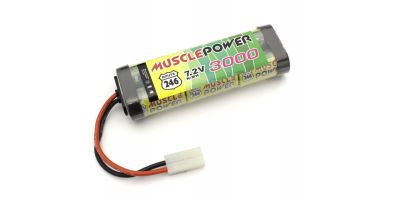 MUSCLE POWER 3000 Ni-MH Battery R246-8452B
