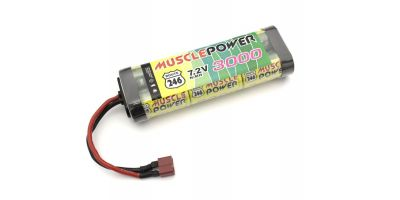MUSCLE POWER 3000 Ni-MH Battery/S Plug R246-8452S