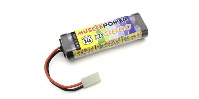 MUSCLE POWER 3600 Ni-MH Battery R246-8453B