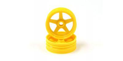 FrontWheel(Yellow/2pcs/BEETLE 2014) SCH003Y