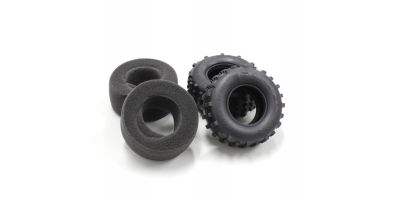 Rear Tire(Soft/2pcs/w/Inner/Scorpion'14 SCT002SB
