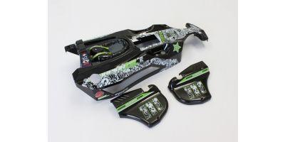 塗装済み完成ボディセット(T2/ブラック/XXL GP) SXB102