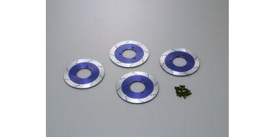 ドレスアップブレーキディスクローター(ブルー/4pcs/DRX)  TRW151BL