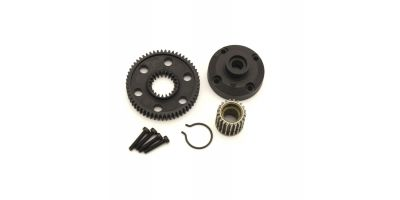 Diff Gear Case & Pulley (ULTIMA) UT008