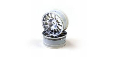 Wheel(14-Spoke/Chrome/Offset4mm/24mm/2p) VZH009CM