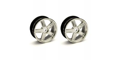 Wheel(5-Spoke/Plating/24mm/2pcs) VZH010CM