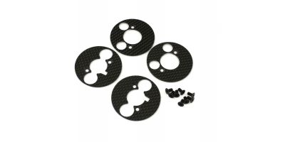 Carbon Disk Plate Set(for R4) VZW428