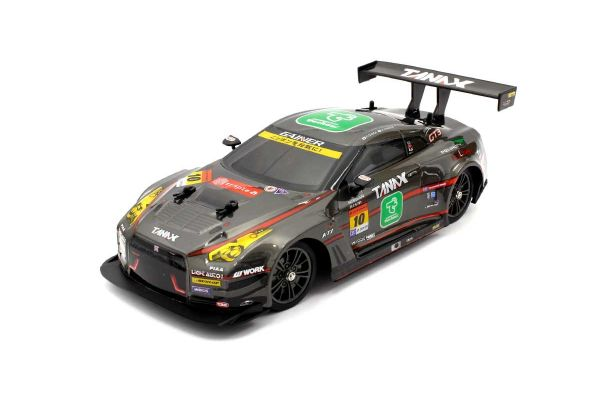 R/C 1/16 ドリフトレーシングGAINER TANAX triple a GT-R  4WD(黒) TS062