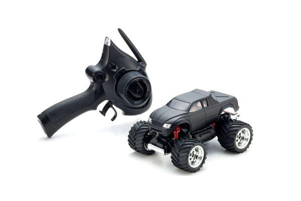 MINI-Z Monster EX MAD FORCE Matte Black Readyset RTR 30093BK