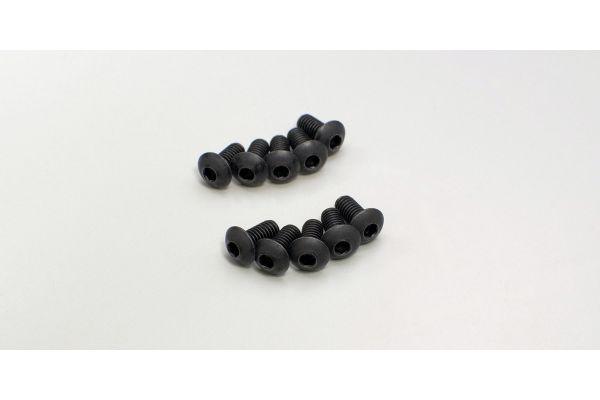 ボタンビス(M4x8)(ヘックス/10入)  1-S14008H