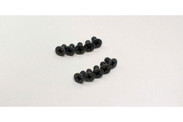 Flat Head Screw(M3x6/10pcs) 1-S33006