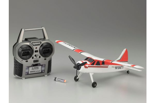 1/32 Electric Powered Micro Radio Controlled Airplane DHC2 BEAVER Readyset  10471RS