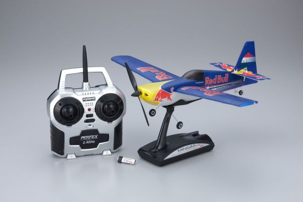 1/19 Electric Powered Micro Radio Controlled Airplane MINIUM EDGE 540 RedBull readyset (Besenyei)  10655RS-BE