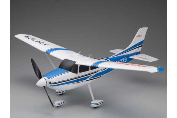 700mm Size Super Scale Flying Model CESSNA 182 Skylane VE29 PIP Blue 10932BL