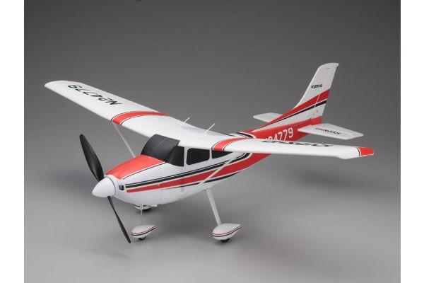 700mm Size Super Scale Flying Model CESSNA 182 Skylane VE29 PIP Red 10932R