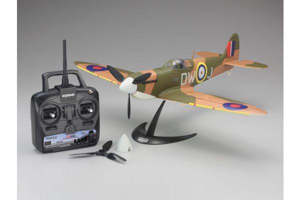 1/17 Scale SUPER SCALE FLYING MODEL SPITFIRE Mk.I VE29 readyset  10951RSBC-MK1