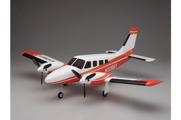 900mm Size Super Scale Flying Model PIPER PA34 VE29Twin Red 10961R