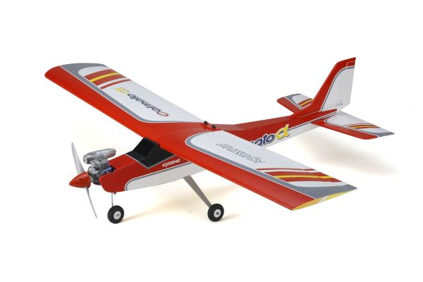 CALMATO ALPHA 40 Trainer RED EP/GP ARF 11232R