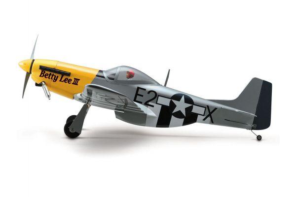 SQS Warbird P-51D Mustang 40 w/ retract 11823L