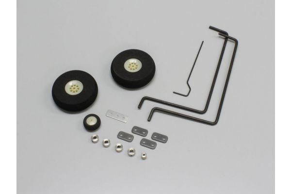 Main Gear Set (MESSERSCHMITT 40) 11824-03