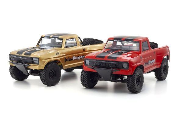 1/10 Scale Electric Radio Control 2WD Truck 2RSA Series Outlaw Rampage PRO Type 2 34363T1