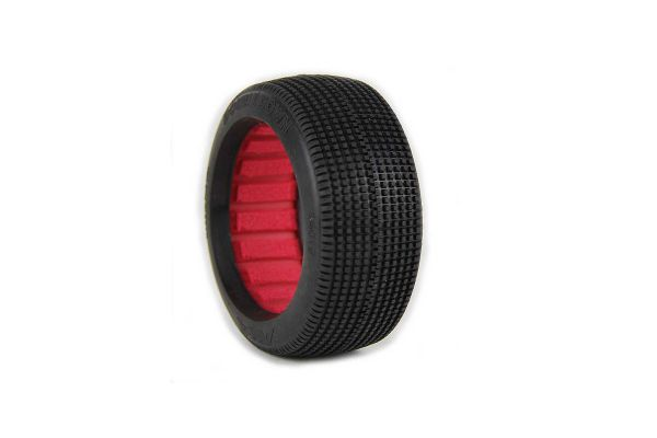 1:8 BUGGY DOUBLE DOWN SUPER SOFT WITH RED INSE AKA14019VR