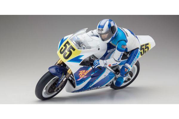 1/8 SCALE EP MOTORCYCLES HANGING ON RACER S.R.T. SUZUKI RGV-Γ 1992 Kit 34931