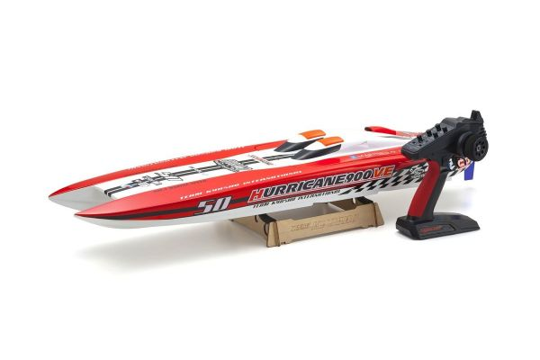 ELECTRIC POWERED RACING BOAT HURRICANE 900VE Readyset battery & charger not incl.  40235S