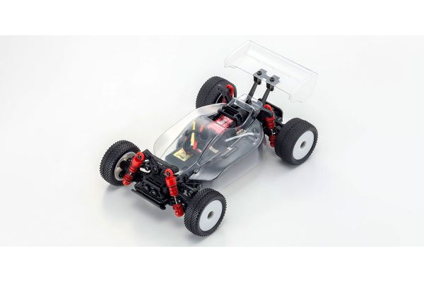 MINI-Z Buggy MB-010VE 2.0 with FHSS2.4GHz System INFERNO MP9 TKI Clear Body・Chassis Set 32292