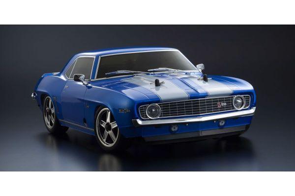 Radio Controlled .15 Engine Powered Touring Car Series PureTen GP 4WD FW-06 readyset 1969 Chevy® Camaro® Z/28 Le Mans Blue w/KT-231P+ 33213