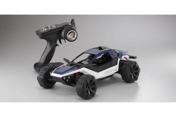 1/10 スケール 電動ラジオコントロール 2WD バギー EZシリーズ NeXXt レディセット カラータイプ3:ネイビー 30834T3