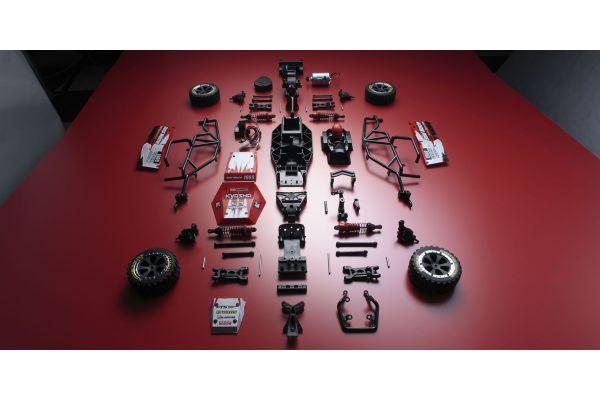 EZシリーズ サンドマスター T1 レッド 1/10 EP 2WD 組立キット 30832T1