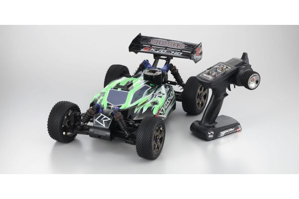 GP 4WD RACING BUGGY Inferno NEO 2.0 Readyset T2 Black / Green 31684T2
