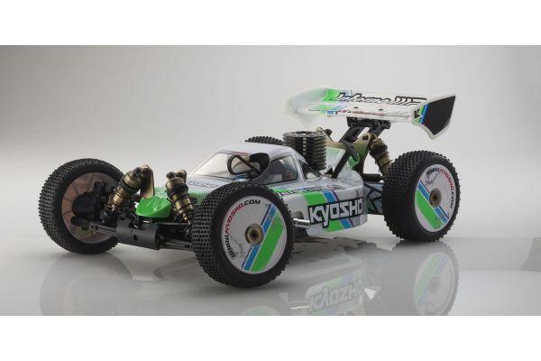 INFERNO MP9 TKI3 T1 (White) 1/8 GP 4WD Buggy Readyset RTR 31889T1