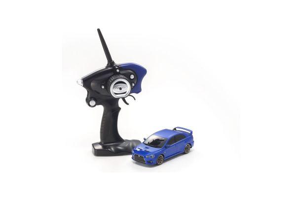MINI-Z AWD Sports MITSUBISHI LANCER EVOLUTION X Metallic Blue MA-020S Readyset RTR 32142MB