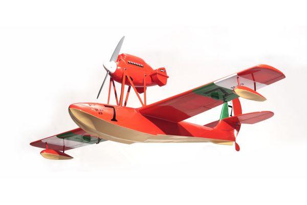 .30 Class Super Quality Series Scale Aircraft MACCHI M33 EP/GP30 ARF RED 11081R