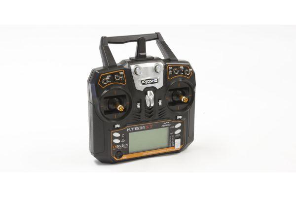 2.4GHz デジタルプロポーショナルラジオコントロールシステム シンクロ KT-631ST 6ch テレメトリーTx/Rxセット(モード1) 京商京商オンラインショップ限定の電波テスト使用品につき特別価格で販売中(通常価格:税抜18,000円)